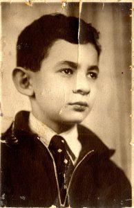 Эдуард Колмановский в ранней юности