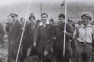 14 февраля 1934 года. Группа молодёжной алии из Германии в кибуце Эйн Харод