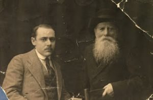 Мой прадед Зурах Владимиров и один из его сыновей — Исаак (брат Иосифа)