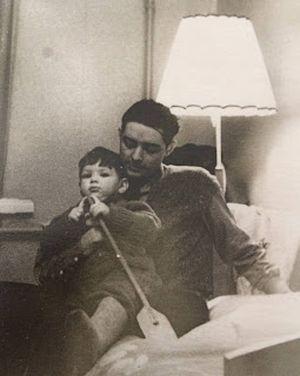 Папа Лёня и маленький я