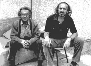 Последнее фото с отцом. Акко, апрель 1993