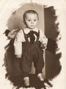 Фима Бронштейн. Уфа. 20.05.1947 г. (из семейного архива)