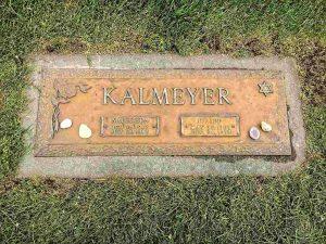 Надгробная плита. Colma, California